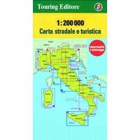 TCI Wegenkaart 7 Toscane Toscana