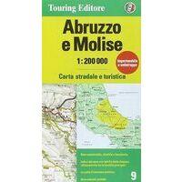 TCI Wegenkaart 9 Abruzzo En Molise