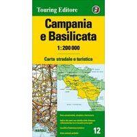 TCI Wegenkaart 12 Campania En Basilicata