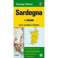 TCI Wegenkaart 15 Sardinië Sardegna