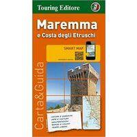 TCI Wegenkaart Maremma & Costa Etruschi