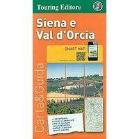 TCI Wegenkaart Siena En Val D'Orcia