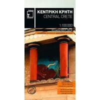 Terrain Maps Wegenkaart Centraal Kreta
