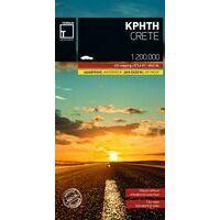 Terrain Maps Wegenkaart 7 Kreta