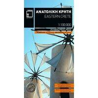 Terrain Maps Wegenkaart Oostelijk Kreta