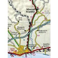Terrain Maps Wegenkaart 6 Peloponnesos