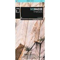 Terrain Maps Wandelkaart 323 Thasos