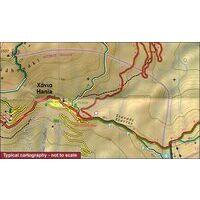 Terrain Maps Wandelkaart Centraal Pilion Pelion