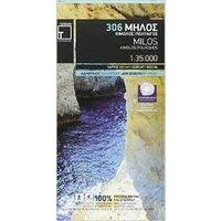 Terrain Maps Wandelkaart 306 Milos
