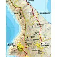 Terrain Maps Wandelkaart 313 Santorini