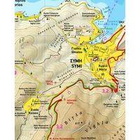 Terrain Maps Wandelkaart 341 Symi