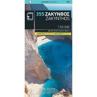 Terrain Maps Wegenkaart 335 Zakynthos