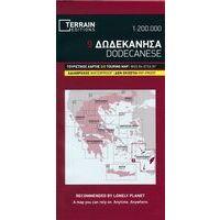 Terrain Maps Wegenkaart 9 Dodekanesos