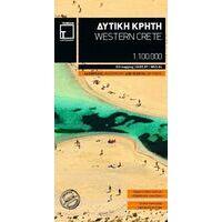 Terrain Maps Wegenkaart 448 Westelijk Kreta
