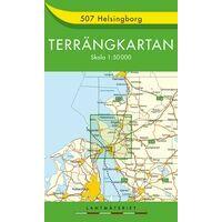 Terrangkartan Wandelkaart 507 Helsingborg 1:50.000