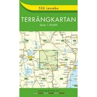 Terrangkartan Wandelkaart 526 Lessebo 1:50.000
