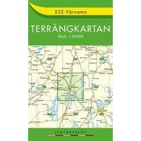 Terrangkartan Wandelkaart 532 Varnamo 1:50.000