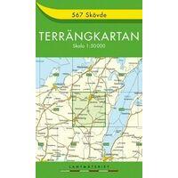 Terrangkartan Wandelkaart 567 Skövde 1:50.000