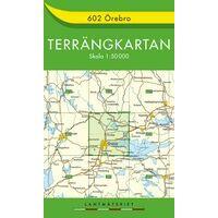 Terrangkartan Wandelkaart 602 Örebro 1:50.000