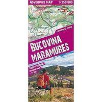 TerraQuest Wegenkaart Bucovina Maramures
