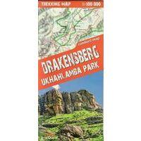 TerraQuest Wandelkaart Drakensberg Ukhahlamba Park