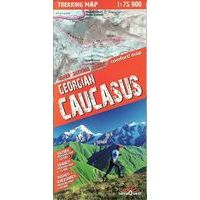 TerraQuest Wandelkaart Kaukasus - Georgië