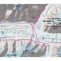 TerraQuest Trekkingmap Tian Shan 1:100.000