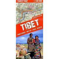 TerraQuest Kaart Zuidelijk Tibet 1:400.000