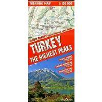 TerraQuest Trekkingmap Turkey The Highest Peaks