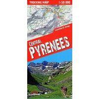 TerraQuest Wandelkaart Centrale Pyreneeen