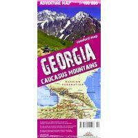TerraQuest Wandelkaart Georgië - Kaukasus
