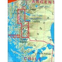 TerraQuest Wandelkaart Patagonië