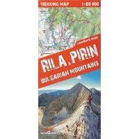 TerraQuest Wandelkaart Rila - Pirin (Bulgarije) 1:80.000
