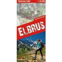 TerraQuest Wandelkaart Trekking Map Elbrus 1:50.000