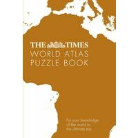 Times The Times World Atlas Puzzle Book
