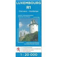 Topo Luxemburg Topografische Kaart R1