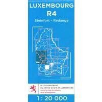 Topo Luxemburg Topografische Kaart R4