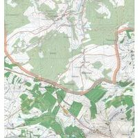 Topo Luxemburg Topografische Kaart R2 Boulaide