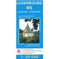 Topo Luxemburg Topografische Kaart R5
