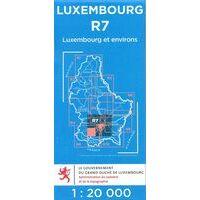 Topo Luxemburg Topografische Kaart R7