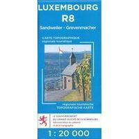 Topo Luxemburg Topografische Kaart R8