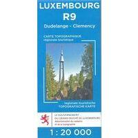 Topo Luxemburg Topografische Kaart R9