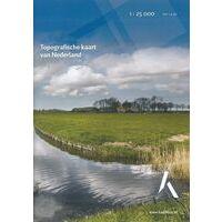 Topografische Dienst Nederland Topografische Kaart 44B Biesbosch