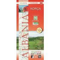 Huber Verlag Topografische Wandelkaart 07 Korca