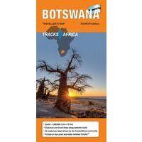 Tracks4Africa Wegenkaart Botswana Tracks