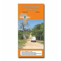 Tracks4Africa Wegenkaart Mozambique & Malawi Tracks