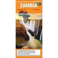 Tracks4Africa Wegenkaart Zambia Tracks4 Africa