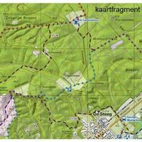 Trage Paden Wandelkaart Veluwe Zuid