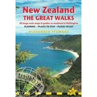 Trailblazer Wandelgids New Zealand - The Great Walks