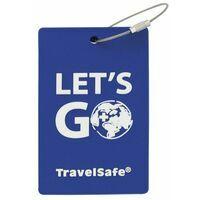 Travelsafe Bagage Label - Rubber Adreslabel